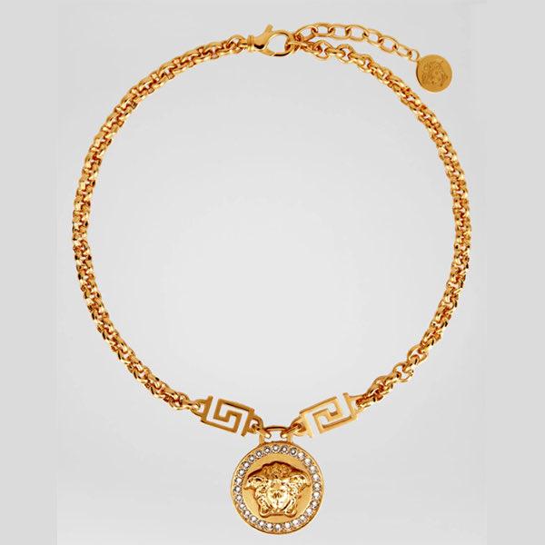Medusa Necklace Versace